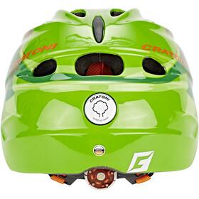 Cratoni Akino Helmet Kinder dinogreen glossy